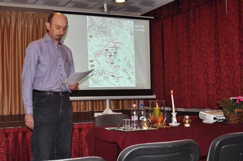 Szűcs Tamás tartott előadást. Fotó: Rideg Ferenc