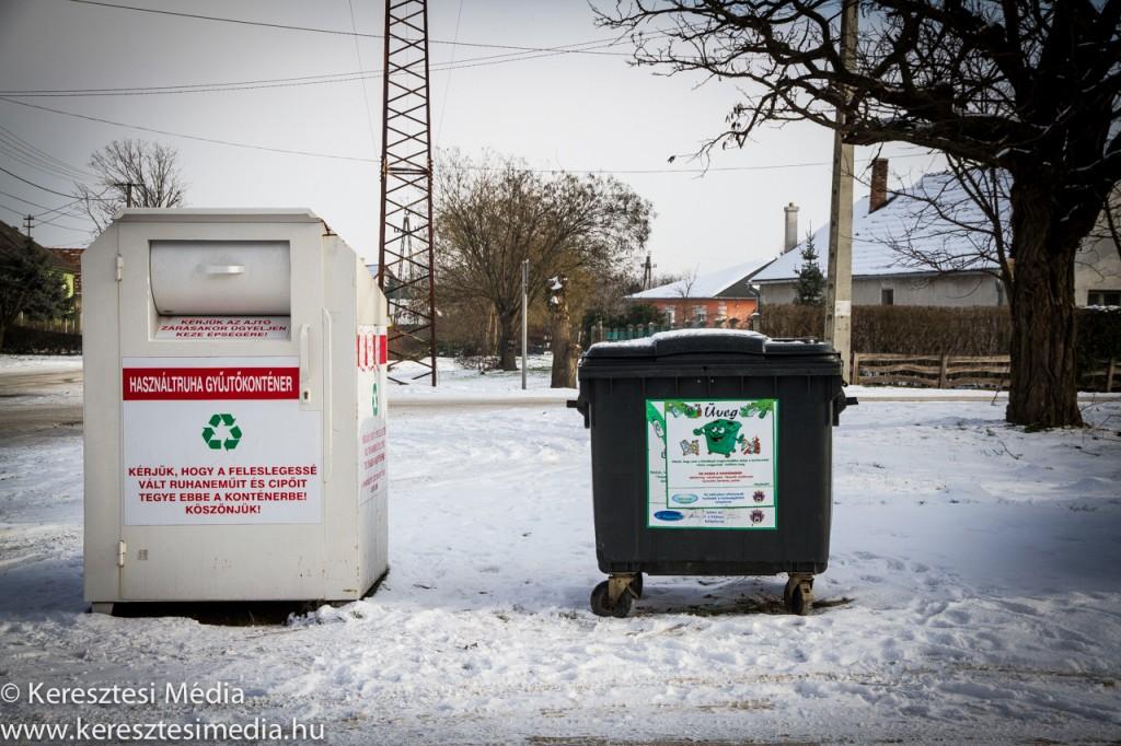 hulladék- és használtruha gyűjtő