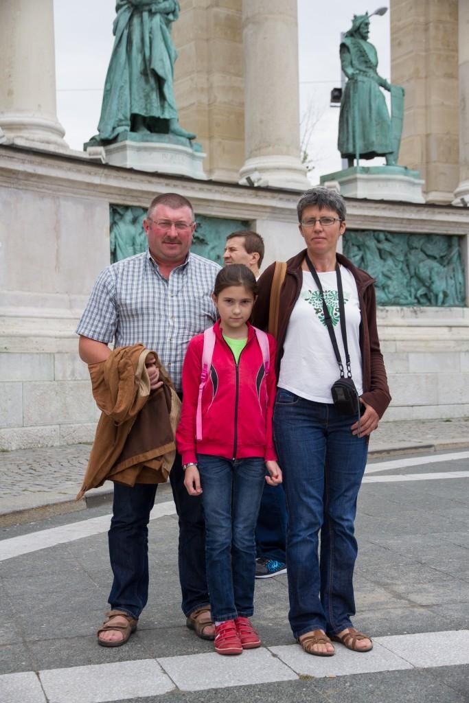 Nagy László, Várfalva alpolgármestere és családja